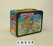 Addams Family Children's Vintage Metal Lunch Box 1974 King-seeley Tv Show