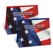 2020 United States Mint Uncirculated Coin Set 20rj