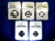 1964 Us Proof Set Pr69 Ngc Only 7 Sets Known With Mike Castle Kennedy Half