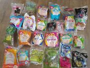 Lot Of 25 Mcdonalds Happy Meal Toys Recess, Furby Plus