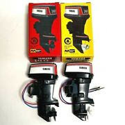 Mitsuwa Yamaha 140 Toy Outboard Motor Type A And B Set Made In Japan Rare