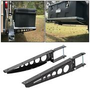 Rv 4 Square Bumper-mounted Cargo Box Support Arms