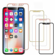 For Iphone 11 Pro Max Xs Max Full Cover Tempered Glass Screen Protector Lot