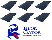 6 Pcs Ground Protection Mats Cranes Excavators Loaders Skid Steer Bobcat 3and039 X 8and039