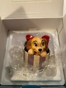 Wdcc A Perfectly Beautiful Little Lady From Lady And The Tramp In Box With Coa