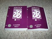 2000 Chevy Geo Tracker Shop Service Repair Manual Hard Top 1.6l And 2.0l 4-cyl