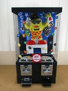 Vintage Collector Mandm Character Candy Vending Machine Dispenser 25₵ Work Great