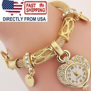 Bracelet Wrist Watch For Woman Silver Gold Bangle Band Crystal Relojes De Mujer