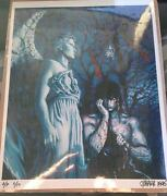 The Crow Print Poster 1995 Signed James Oand039barr Creator Autograph Rare Ap