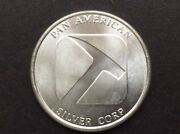 Northwest Territorial Mint Pan American Silver Corp. Silver Art Round A0017