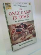 The Only Game In Town A Dell First Edition By Einstein, Charles