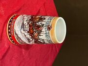 Budweiser Holiday Steins Lot Of 6andnbsp