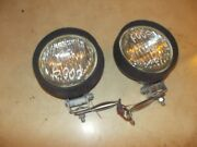 Farmall Super C Sc Ih Tractor Aftermarket Working 12v Lights And Brackets