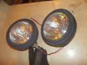 Farmall Ih Tractor Combine Aftermarket Working 12v Lights Light On Thread Posts