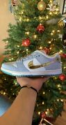 Nike Sb X Sean Cliver Dunk Low Pro Holiday Special Size Us 8.5 Men's