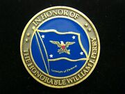 The Honorable William J. Perry Order Of The Sword Challenge Coin
