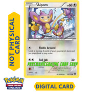 Aipom Fiddle Around Pokemon Tcg Online Trading Ptcgo In Game Card Digital Card
