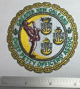 Vintage Usn Us Navy Chief Petty Officers Association Patch Greater New Orleans