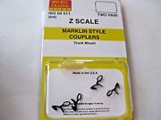 Micro-trains Stock 00204011 908 Marklin Style Couplers Truck Mount Z Scale