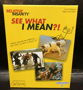 Play Monster Boardgame Relative Insanity - See What I Mean New