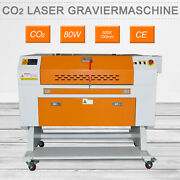 80w Co2 Laser Cutting And Engraver Machine Laser Engraver Acrylic And Wood Cutter