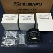 Subaru Engine Oil Filter And Crush Gasket 3 Pack For 2015-2018 Wrx 15208aa170