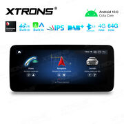 10.25 Car Stereo Radio Gps Android 10 4+64gb For Benz W176 Gla-class C117 X156