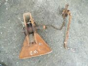 Allis Chalmers Wd Wd45 45 Ac Tractor Snap Coupler Bell Housing Holder And Release