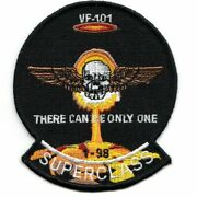 4 Navy Vf-101 Class 01-98 Nuke Grim Reapers Gunfighter Embroidered Jacket Patch