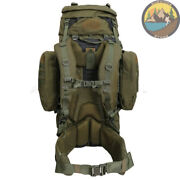 Special Forces Backpack Military Rucksack Olive Molle Camping Hiking Mountain