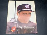 Vintage Shakespeare Pro Golf Catalog Rare Stock Images Booklet