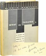 Eric Bentley What Is Theatre Signed First Edition 1956 131969