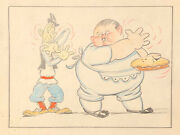 Laurel And Hardy Mother Goose Goes To Hollywood Original Storyboard 1938