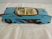 Vintage 1953 Ford Irwin Sun Dome Convertible Friction Car Working Windshield