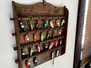 Vintage Fishing Lures Collection Nice Old Tackle Display Salmon Trout Spoons