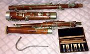 Antique/vintage Bassoon By Cabart Paris France - Complete-needs Some Attention