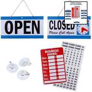 Business Hour Closed Open Sign – Bundle Of Office Hours Will Return Clock W Suct