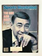 Howard Cosell Autographed Sports Illustrated August 8, 1983 Jsa Coa