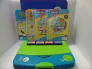 Leap Frog Leap Pad Learning System 30004 Year 2001 W/4 Books And 4 Cartridges