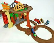 Thomas The Train, Return Misty Island Portable Take Along With 5 Die Cast Magnet