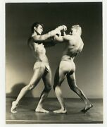 Gay Male Nude Beefcake Physique 1940 Spartan Of Hollywood Bodybuilder Hunk Q7113