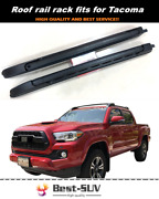 Roof Rail Carrier Rack Fits For Toyota Tacoma 2016-2021 Luggage Bar Roof Racks