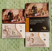 2007 2008 2012 2015 2016 U.s Mint Presidential Dollar Coin Proof Sets 31