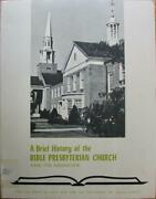 Harden, A Brief History Of The Bible Presbyterian Church And Its Agencies