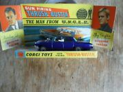 Corgi 497 The Man From Uncle Thrush-buster 1966 100 Original Boxed Nr Mint I250