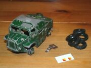 Dinky 688 Military Field Artillery Tractor For Restoration With Parts Rv442