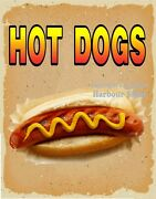 Hot Dogs Decal Choose The Size Dog V Food Truck Concession Sticker