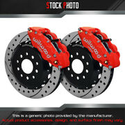 Wilwood Slotted Rotor Forged Narrow Superlite Caliper F Brake For 11-14 Mustang