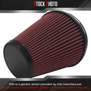 Edelbrock E-force Competition Replacement Round Tapered Red Air Filter 6 B X 5