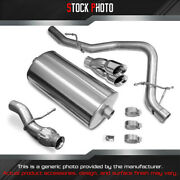 Corsa Sport 304 Ss Cat-back Exhaust System For 2009-2013 Chevy Tahoe 5.3l 14912